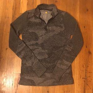 C&C California Gray Camo Mesh Pullover